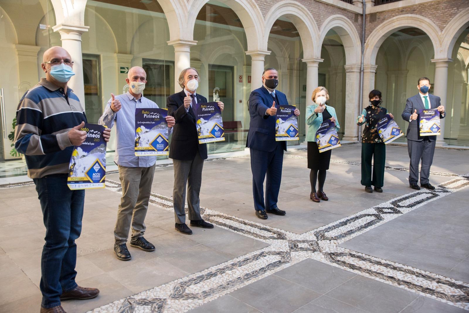 La Junta apoya el Proyecto Pirineos 2020 impulsado desde la Asociación de Personas con Crohn y colitis ulcerosas