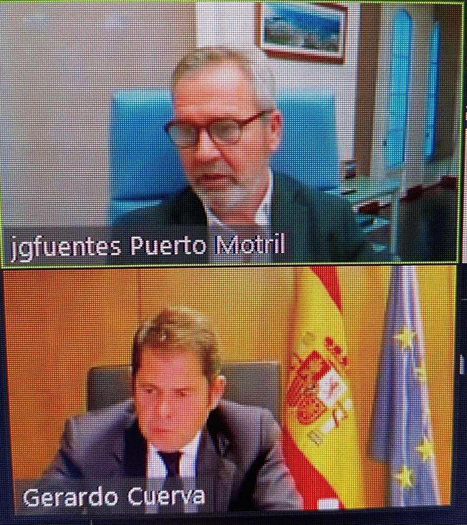 Gerardo Cuerva respalda la conexión ferroviaria del Puerto de Motril
