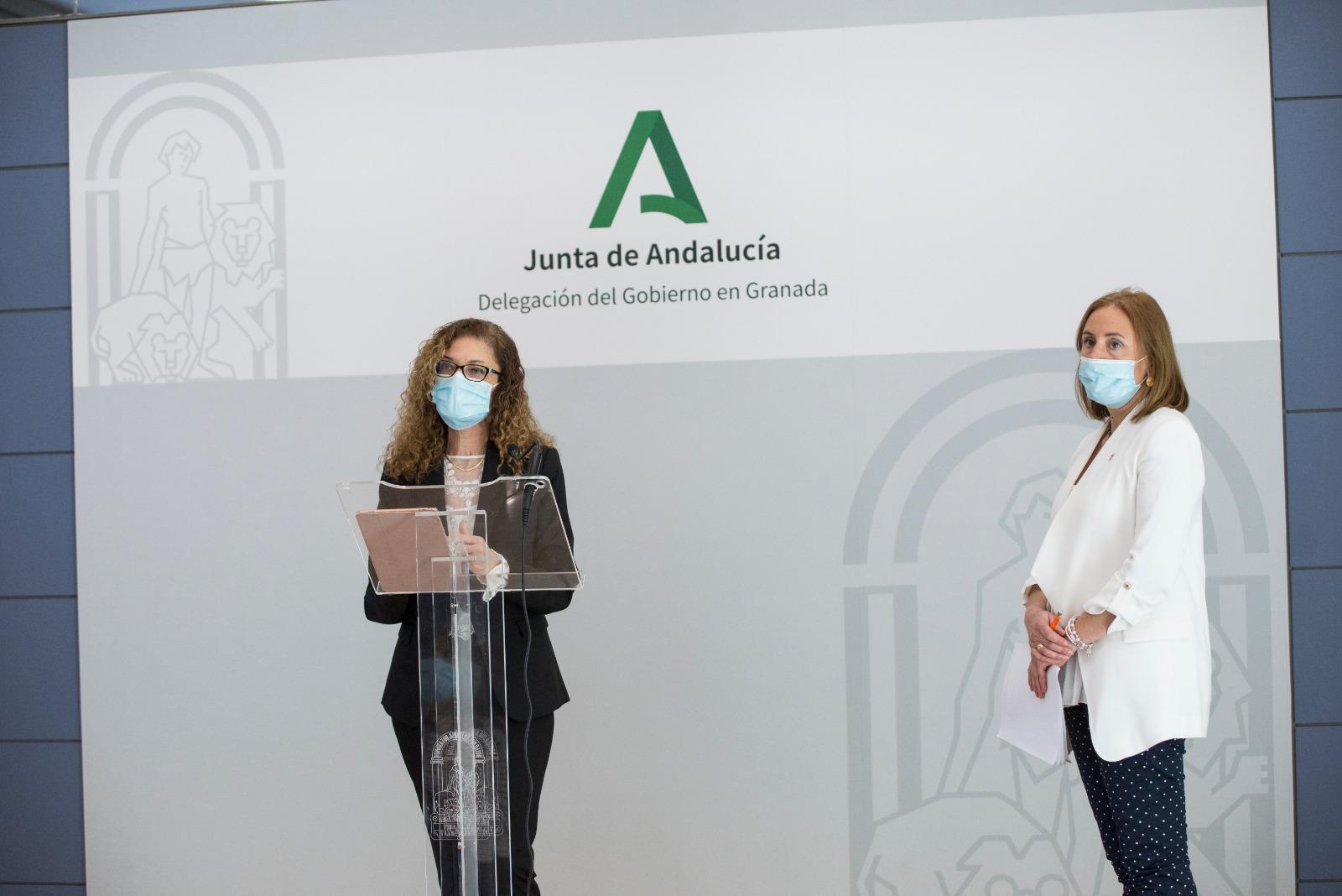 Más de 2.400 familias de Granada se han beneficiado del Programa de Tarjetas Monedero, según la Junta