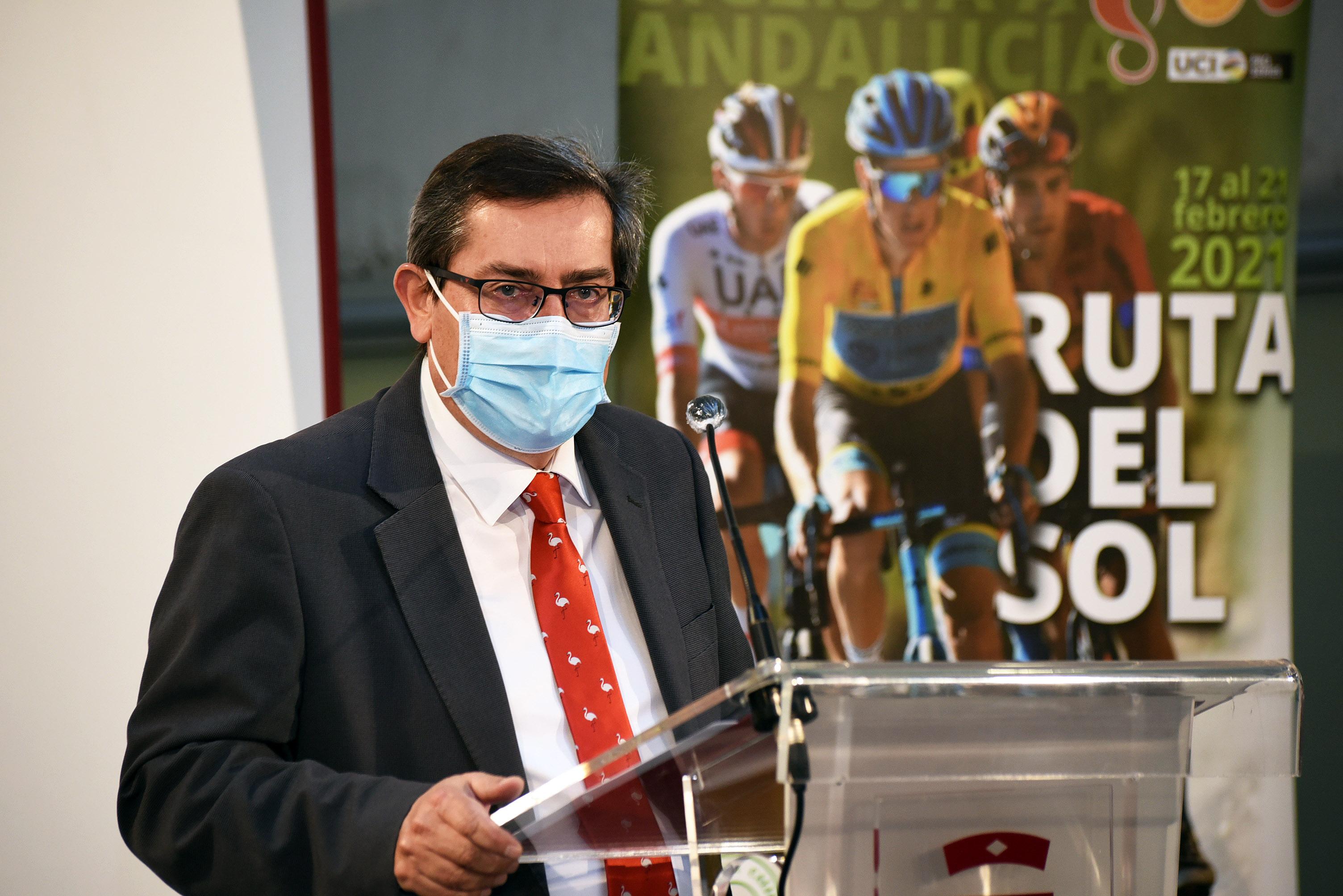 Dos etapas de la Vuelta Ciclista a Andalucía tendrán protagonismo de la provincia