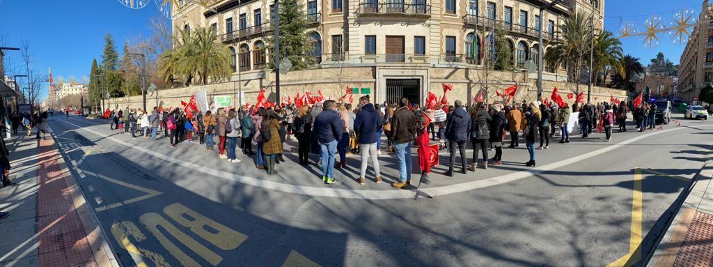 UGT denuncia de nuevo la situación de los comedores escolares en Granada que afecta a 1.000 personas