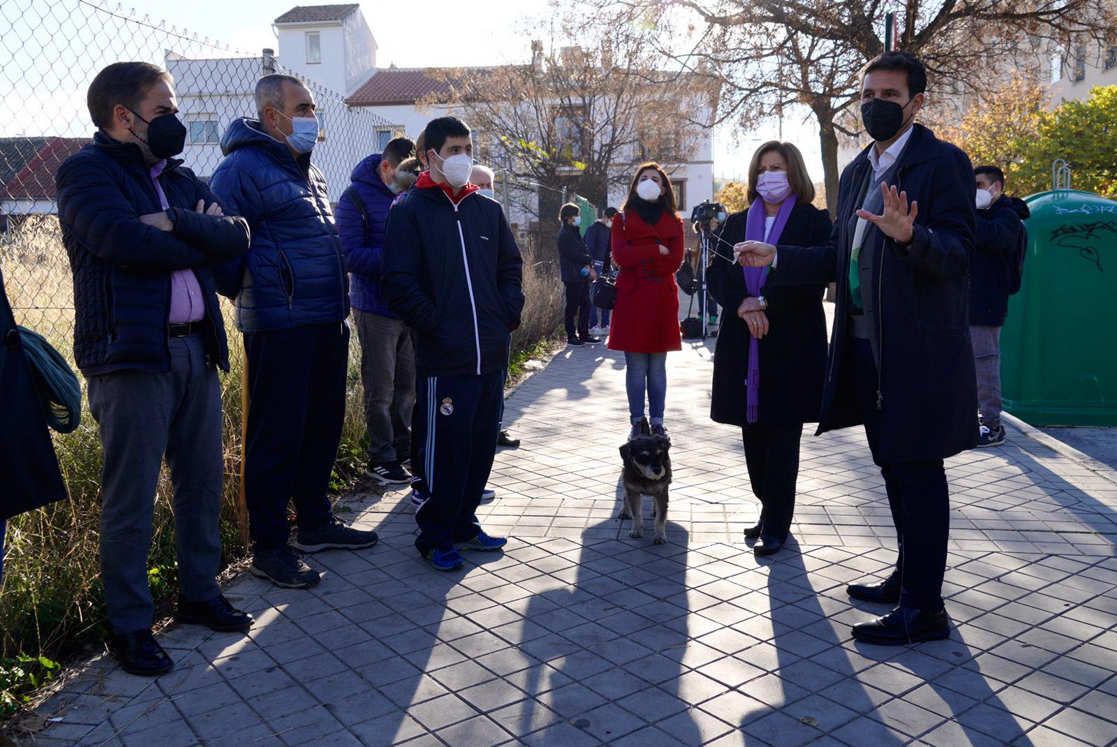 Cuenca reclama a Moreno la construcción del Centro de Salud de la Rosaleda