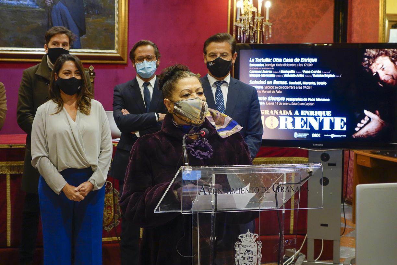 Granada recuerda a Enrique Morente en el décimo aniversario de su muerte