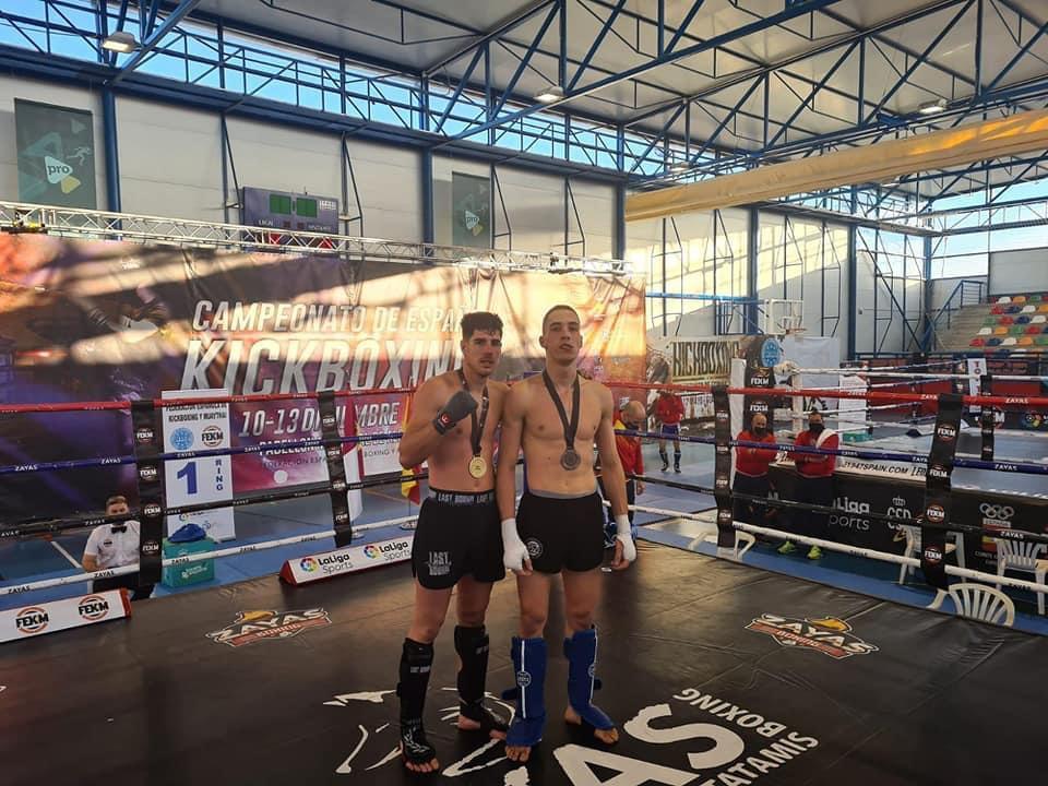 Andrés Entrena, de Huétor Tájar, Campeón de España de Kickboxing
