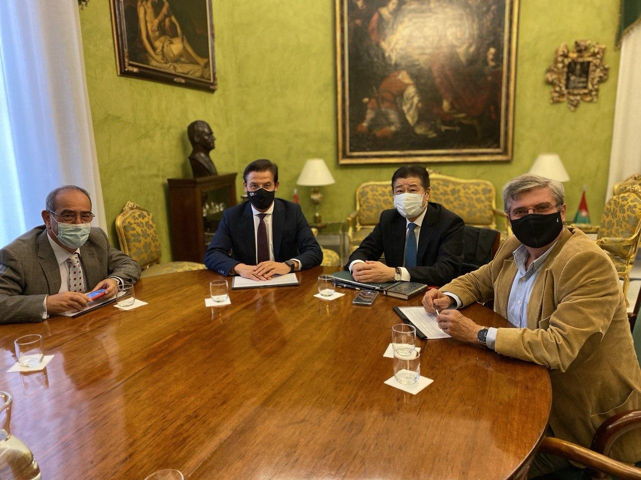 El Alcalde impulsa la candidatura de Granada como sede del foro España-Japón 2022