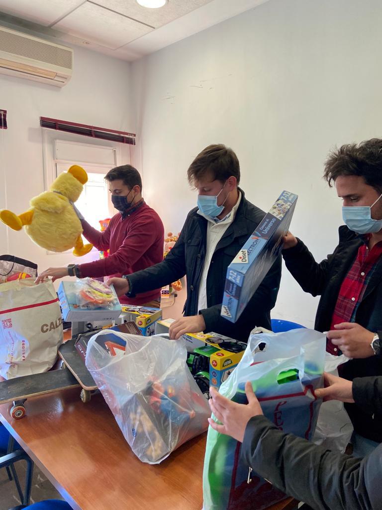 NNGG de Padul promueve una recogida solidaria de juguetes para las familias más necesitadas