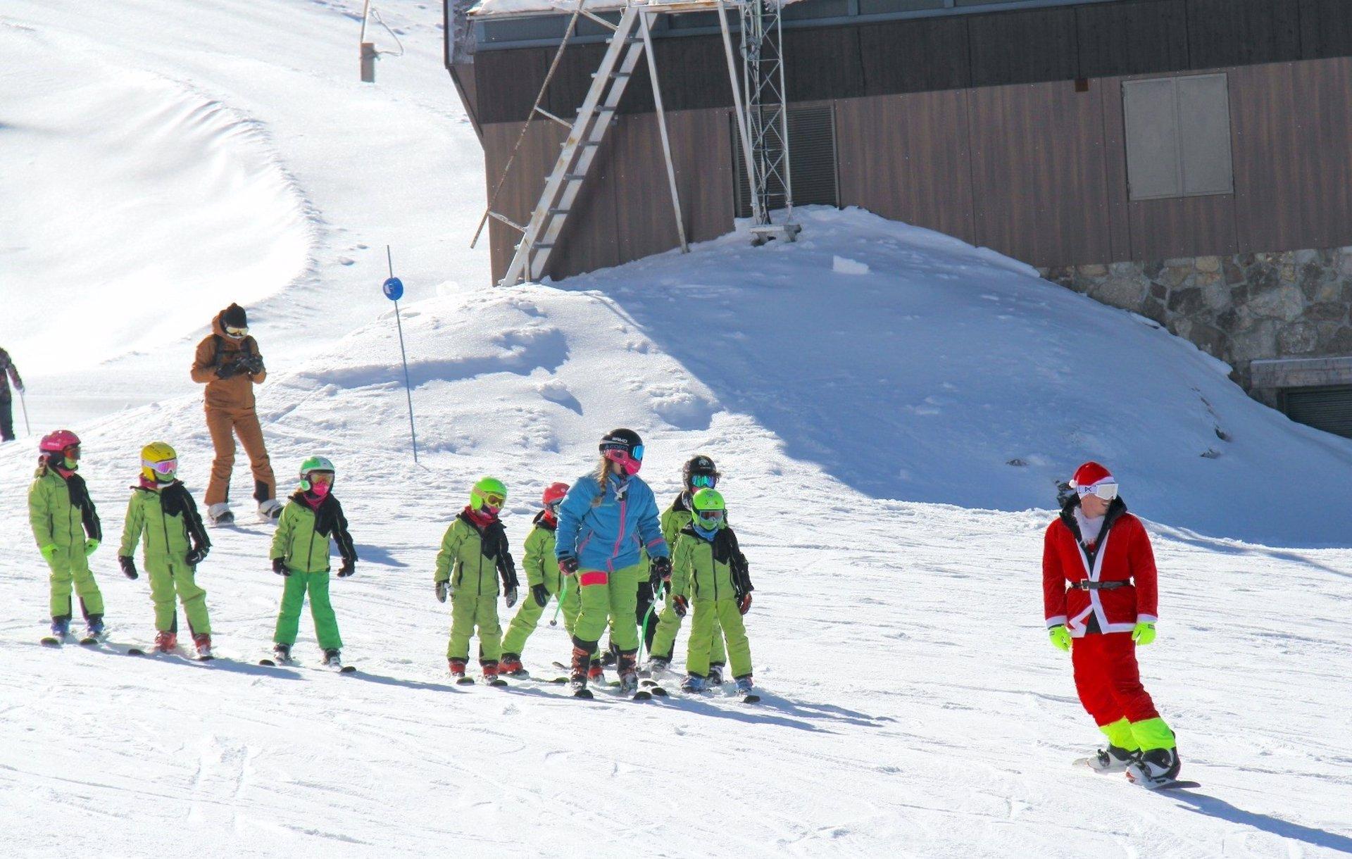 11.600 esquiadores se ha dado cita este fin de semana en Sierra Nevada