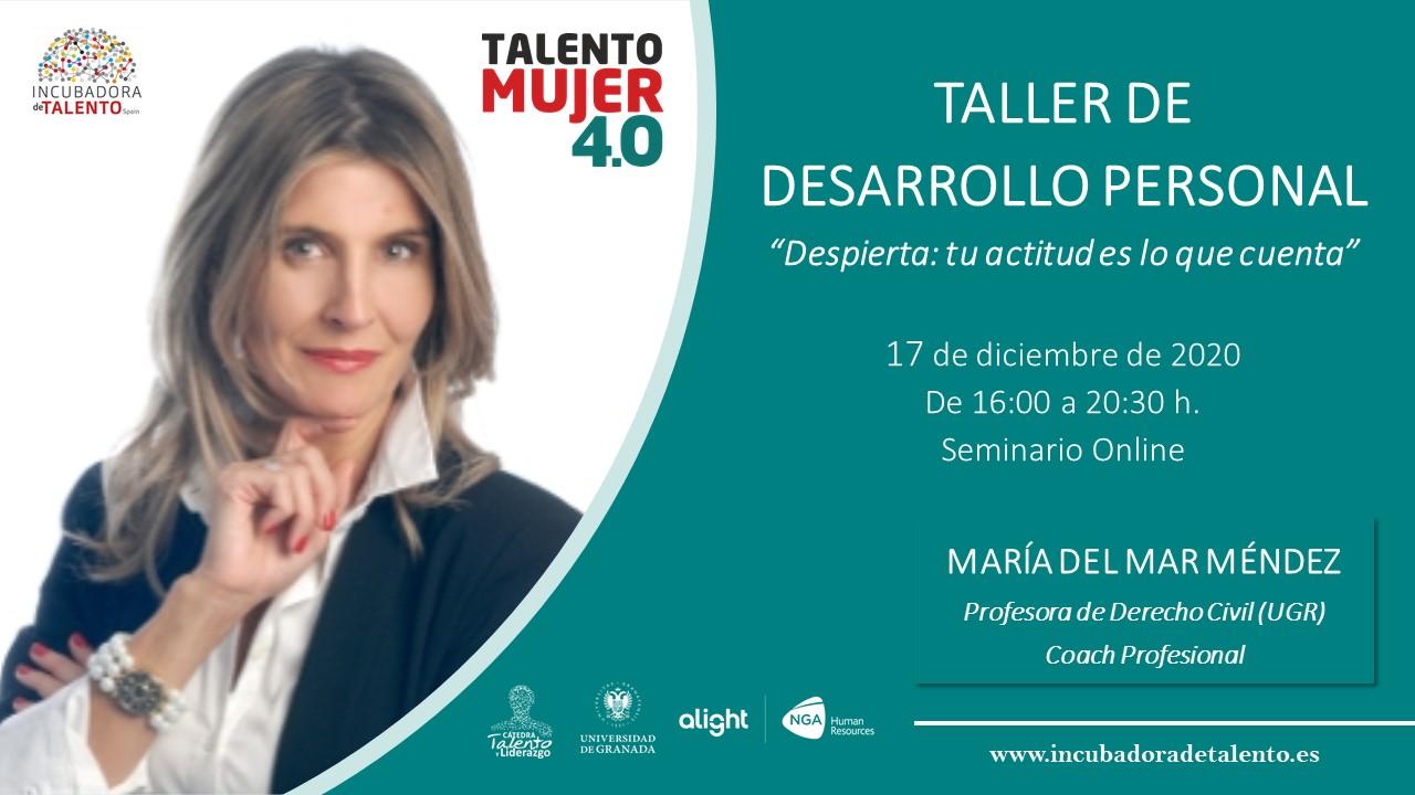 La Incubadora de Talento de la Universidad de Granada imparte el taller de liderazgo femenino en el mundo tecnológico