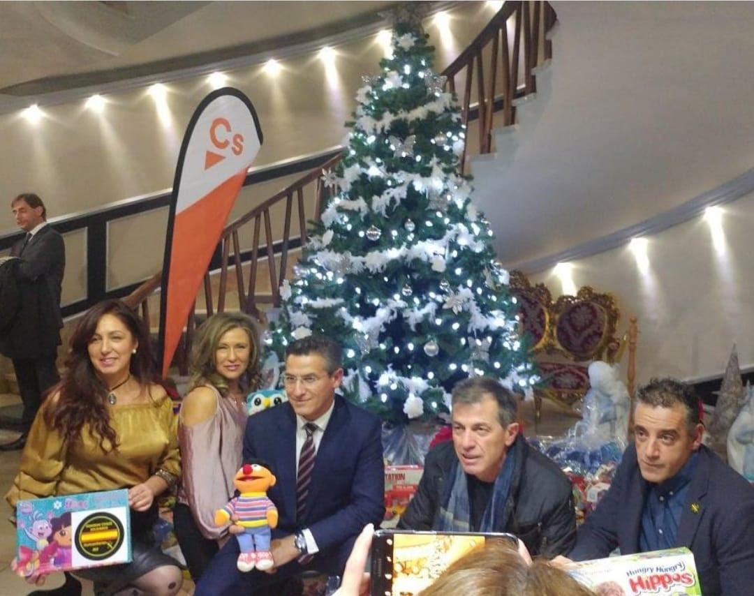 Ciudadanos organiza una nueva campaña solidaria para recoger juguetes para los niños y niñas más necesitados