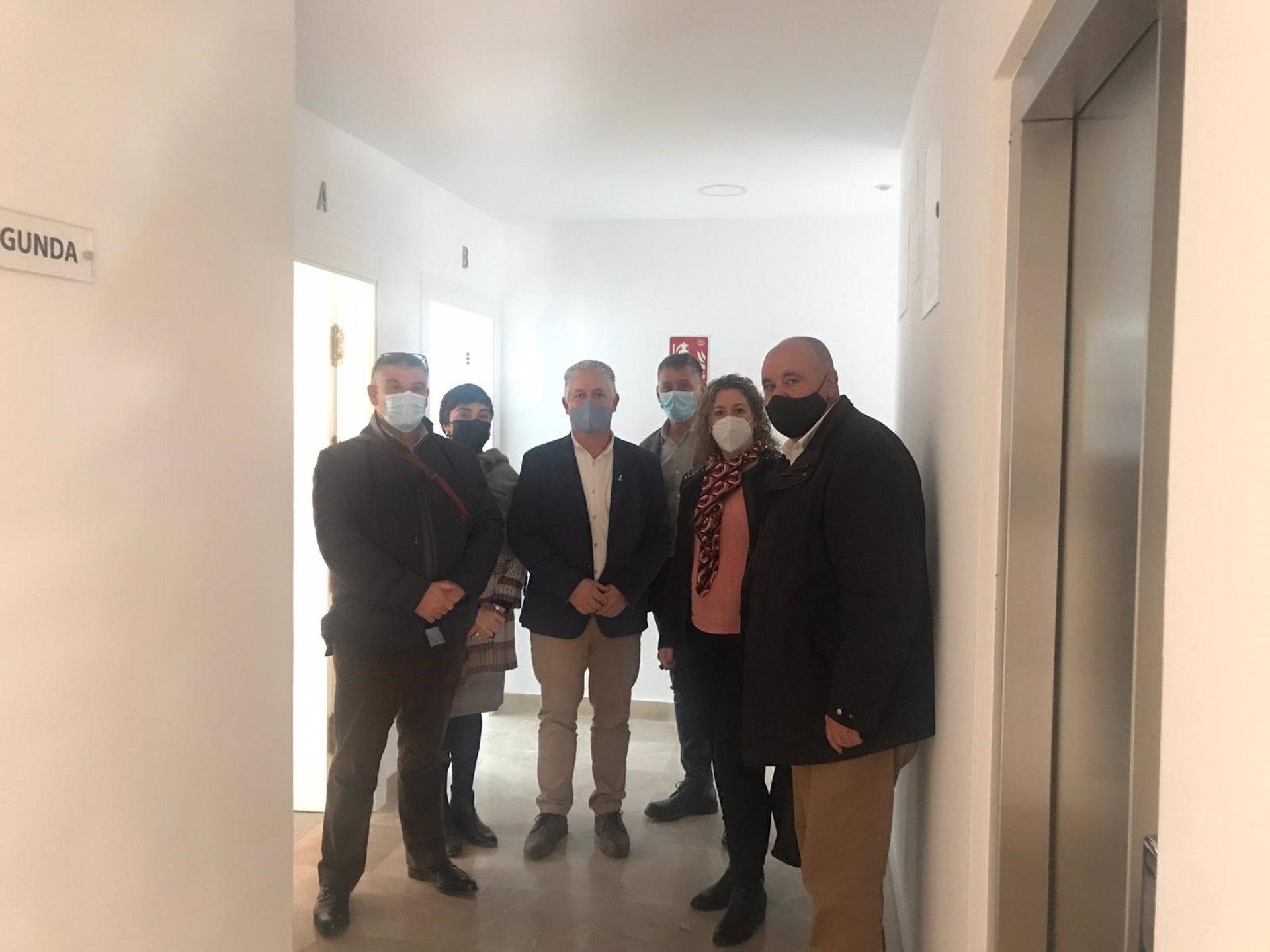 La empresa de vivienda de Diputación finaliza la construcción de 15 pisos de protección oficial en Guadix