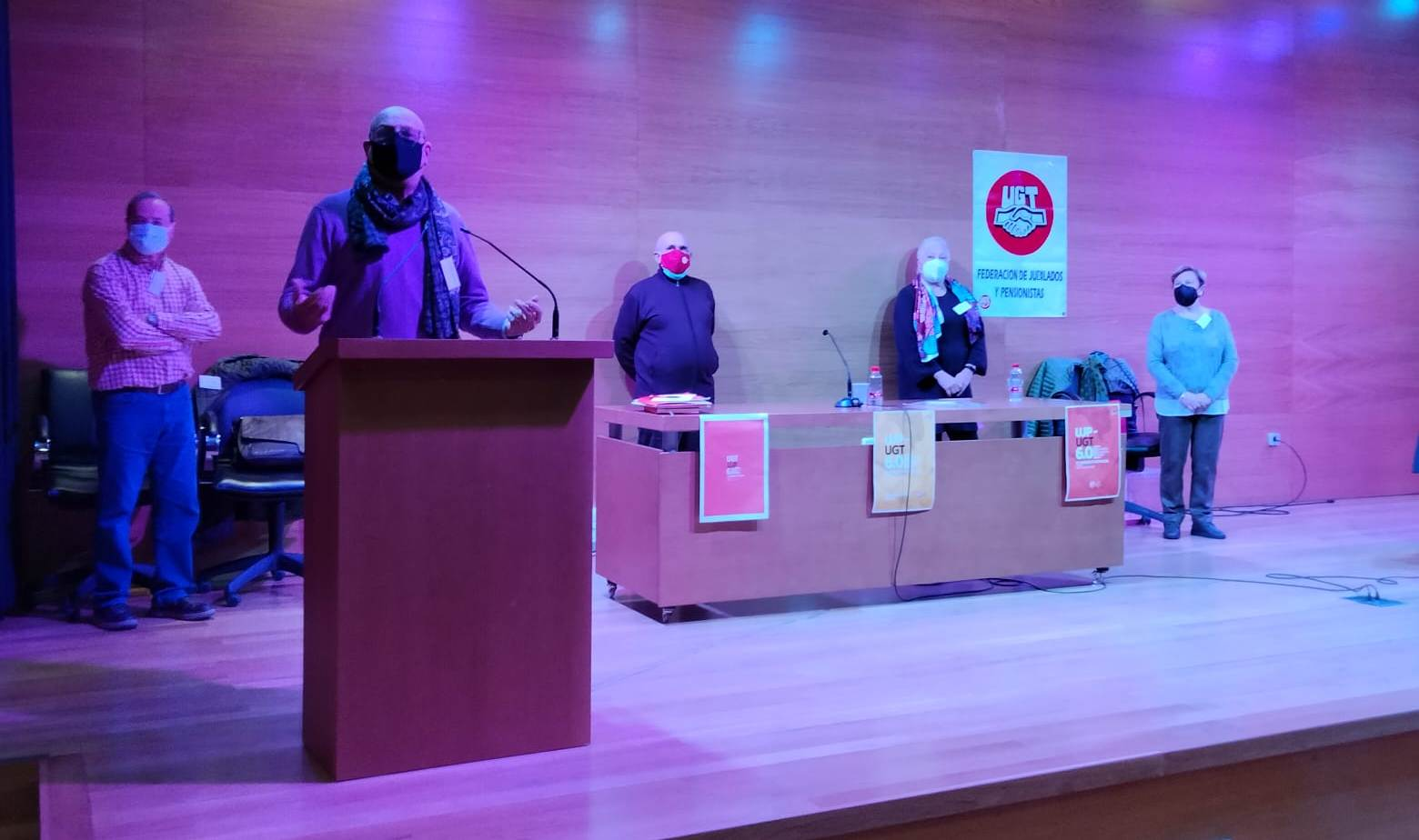 Antonio Garrido, nuevo Secretario General de la Unión de Jubilados y Pensionistas de UGT Granada