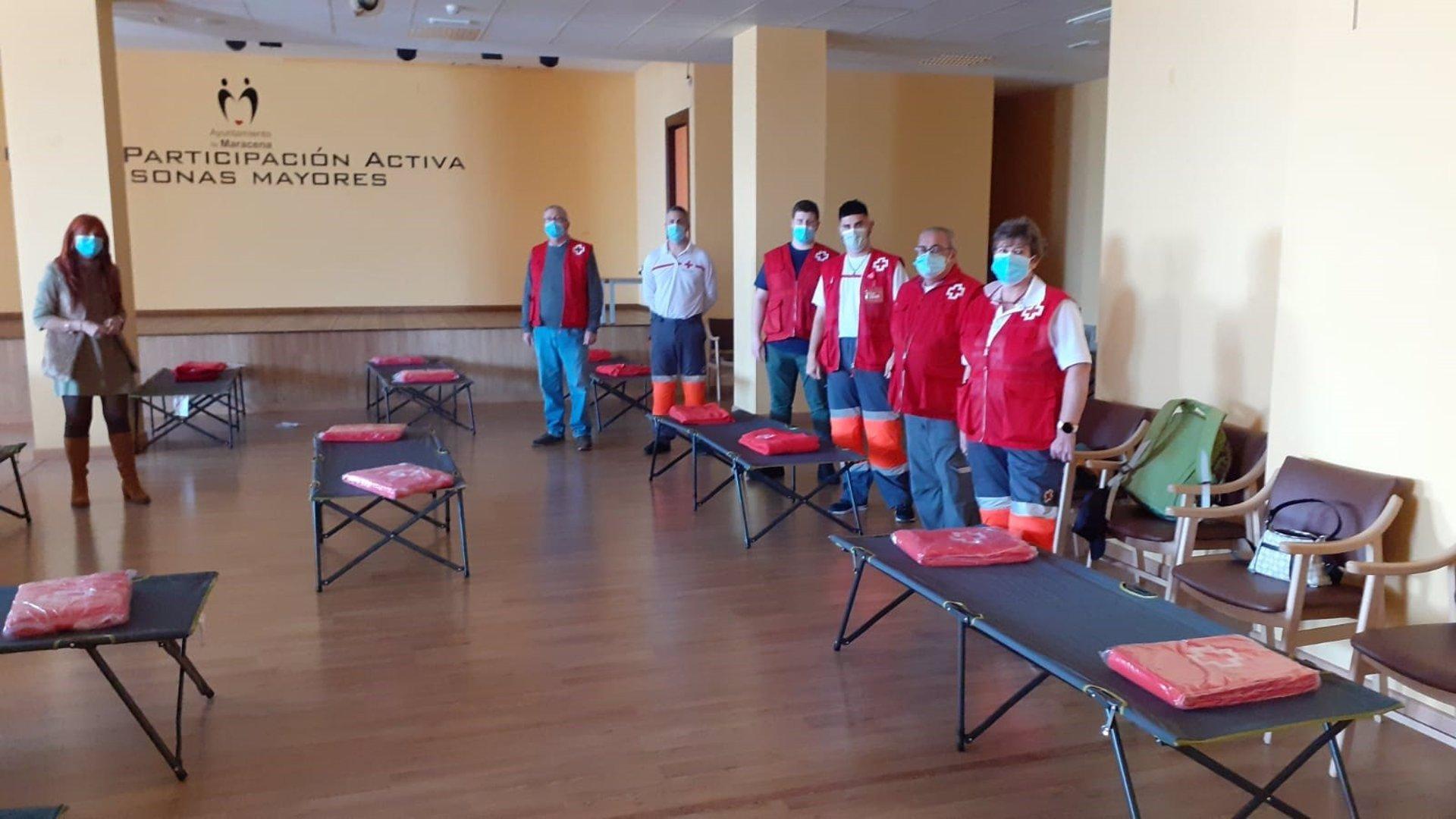 Cruz Roja actúa en las localidades afectadas por los terremotos
