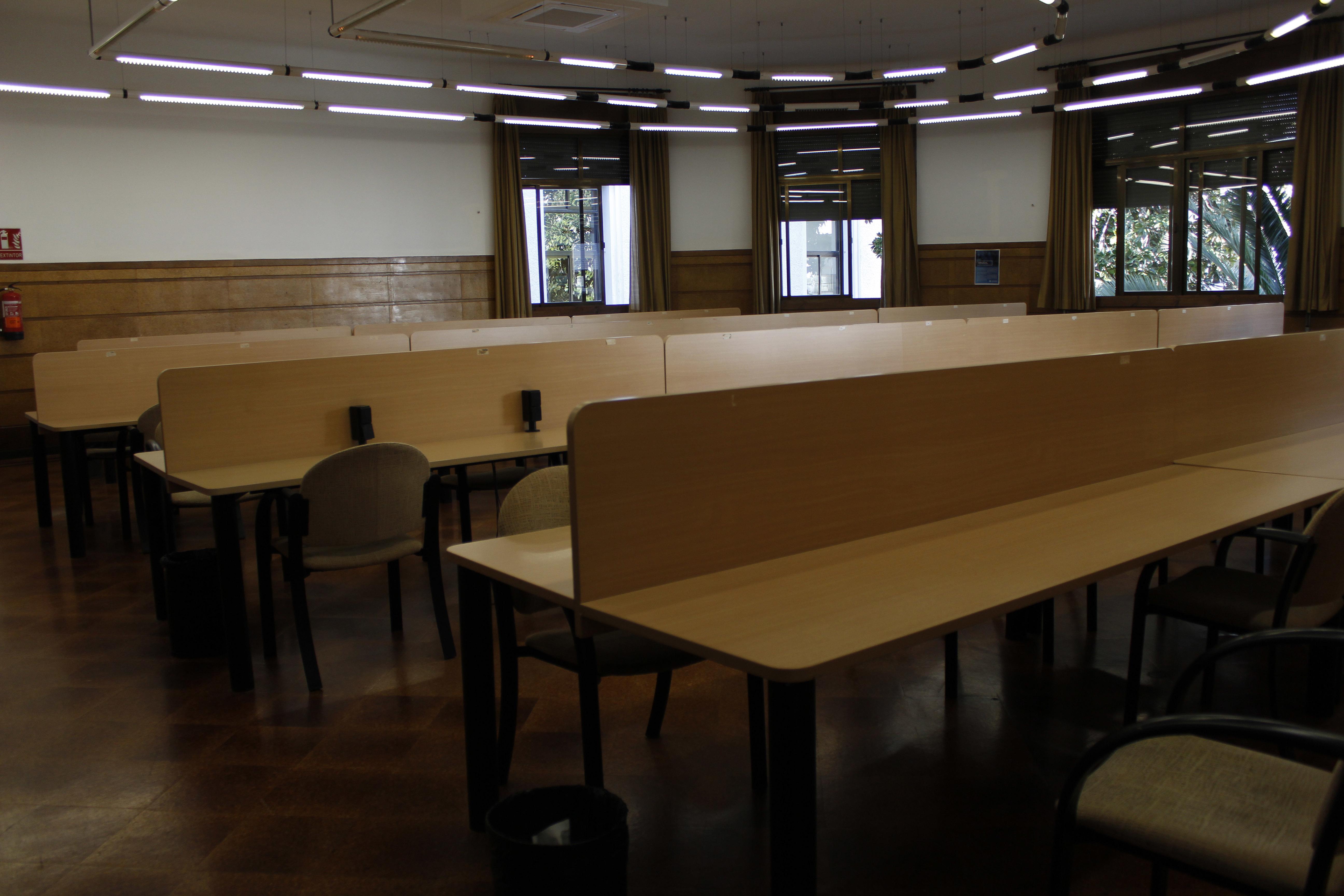 La UGR abre salas de estudio desde el 12 de enero y hasta el 19 de febrero