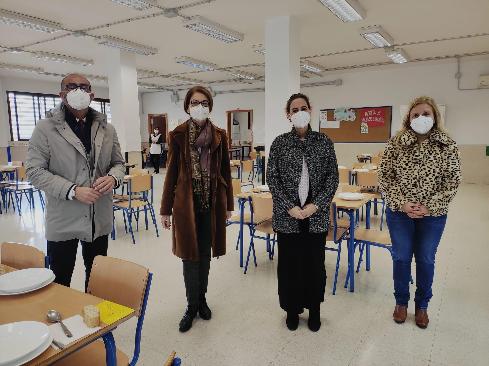 Educación invierte cerca de 230.000 euros en la reforma y mejora del CEIP Las Encinas de Alfacar
