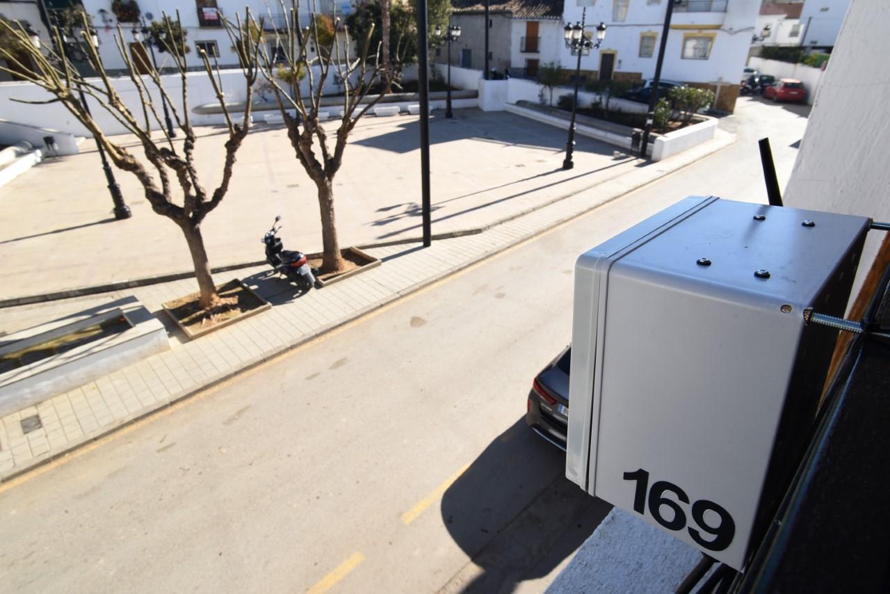 Diputación comienza en Gójar las mediciones para el diagnóstico de calidad del aire en el área metropolitana de Granada