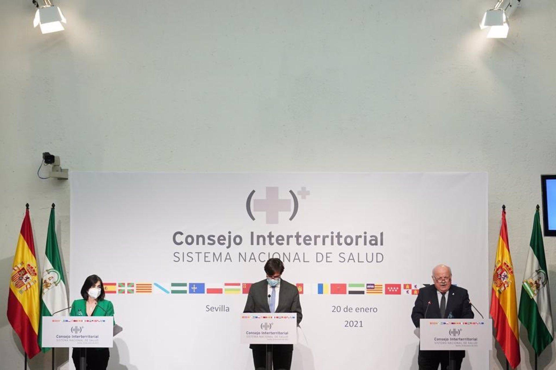 Andalucía insiste en poder ampliar el  toque de queda y confinar municipios