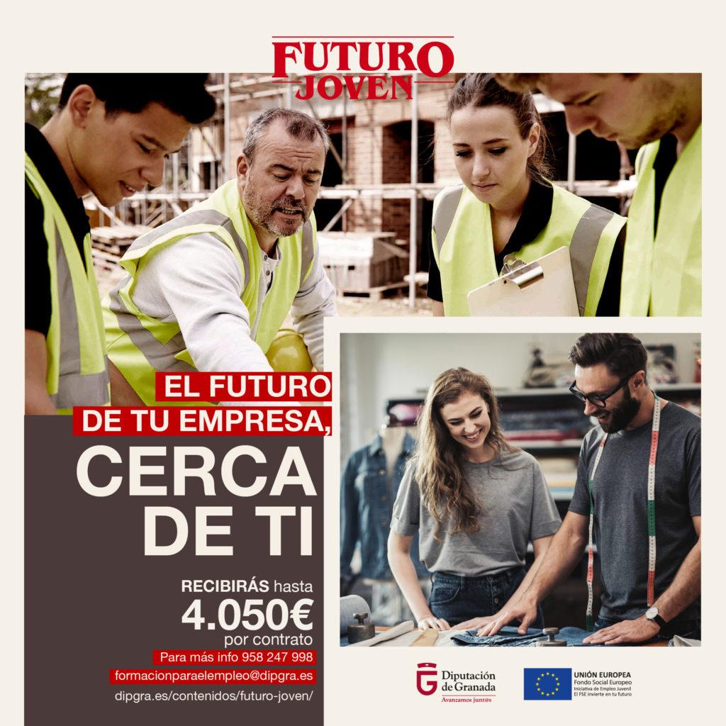 Diputación extiende los plazos de solicitud de dos programas de impulso al empleo joven