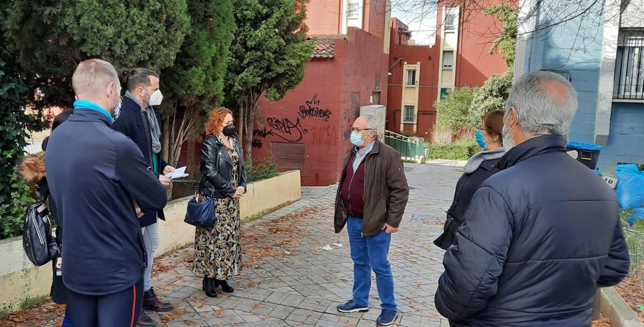 IU exige a la Junta un plan integral de accesibilidad en las viviendas de la Zona Norte