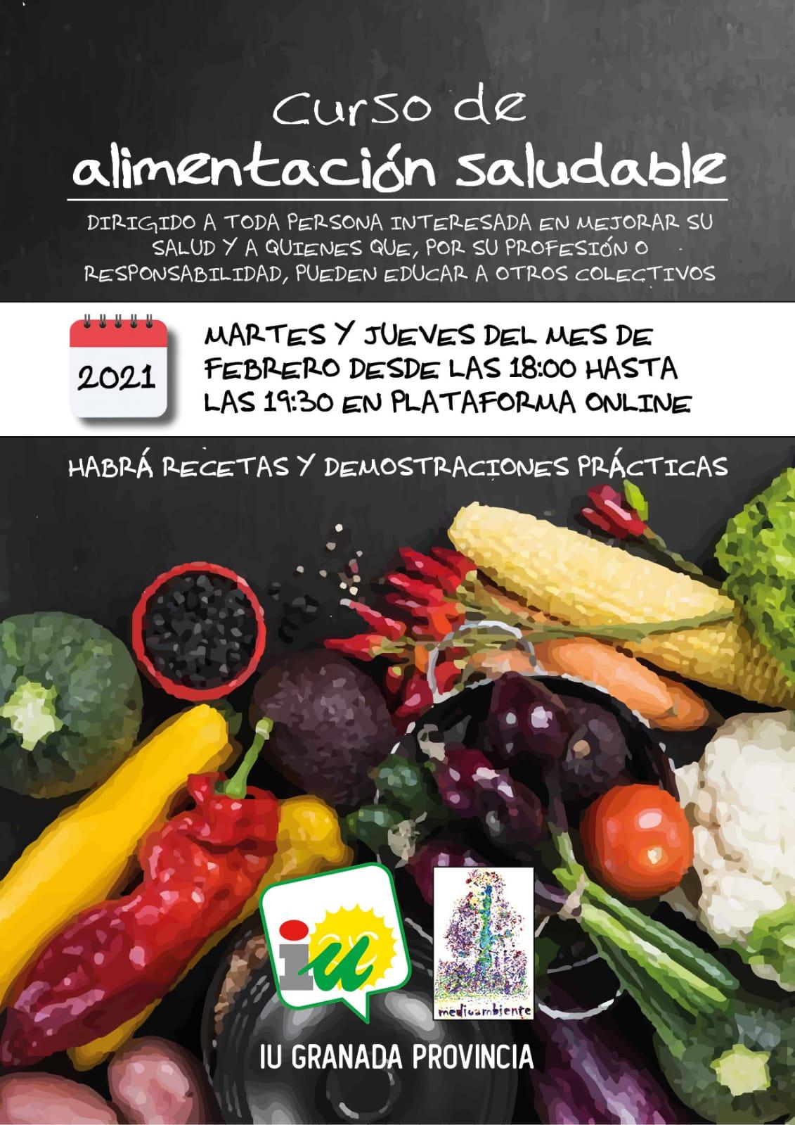 IU organiza un curso de alimentación saludable