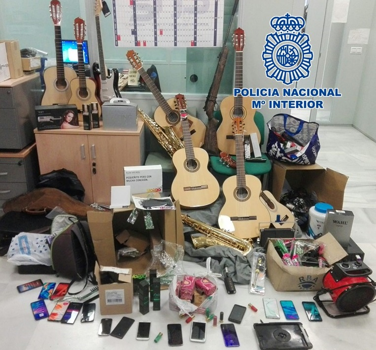 Campaña policial contra los robos en establecimientos del centro de Granada