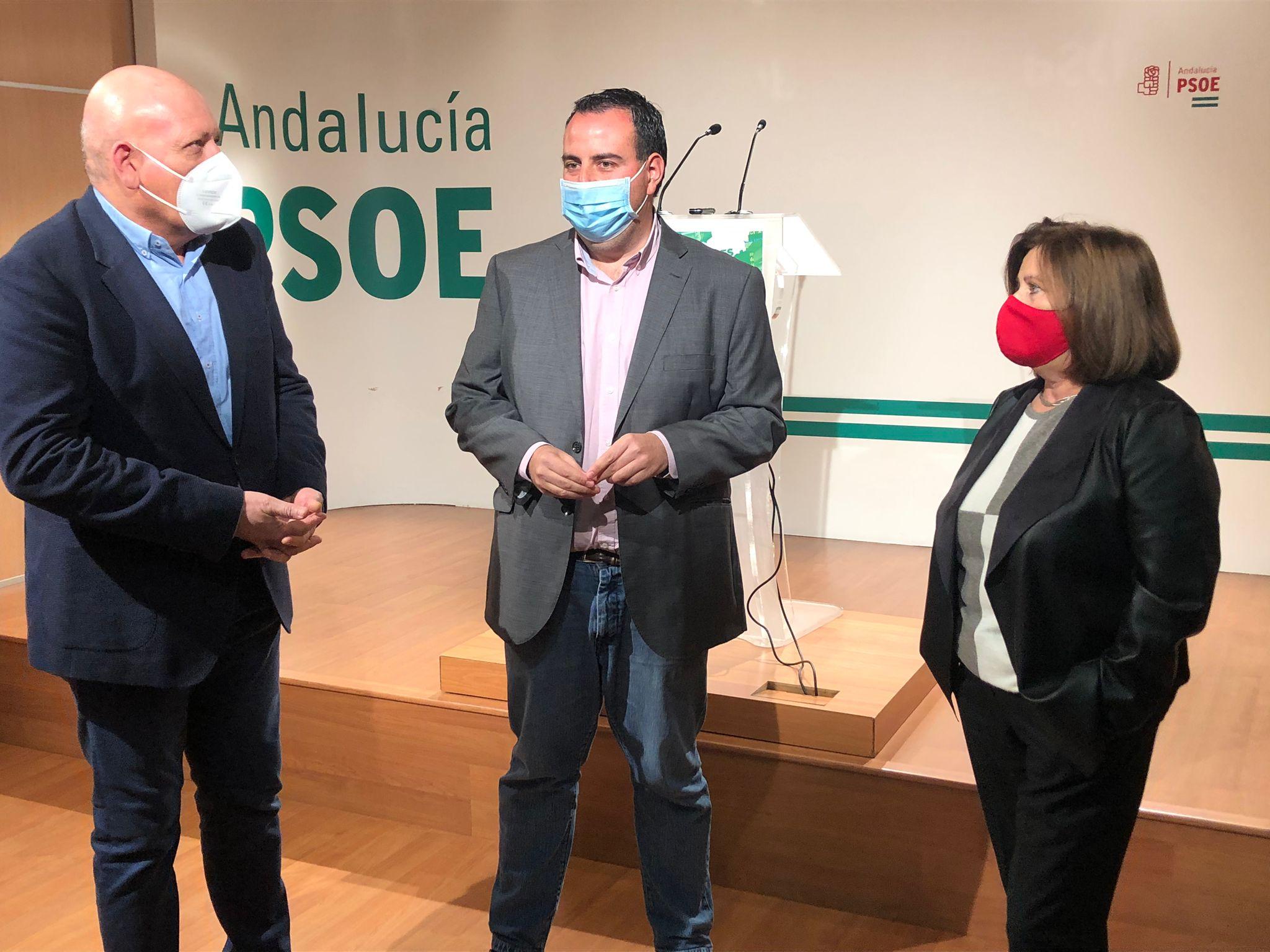 """El PSOE lamenta que la provincia sea el """"centro"""" de los recortes del Gobierno andaluz y pide medidas urgentes"""