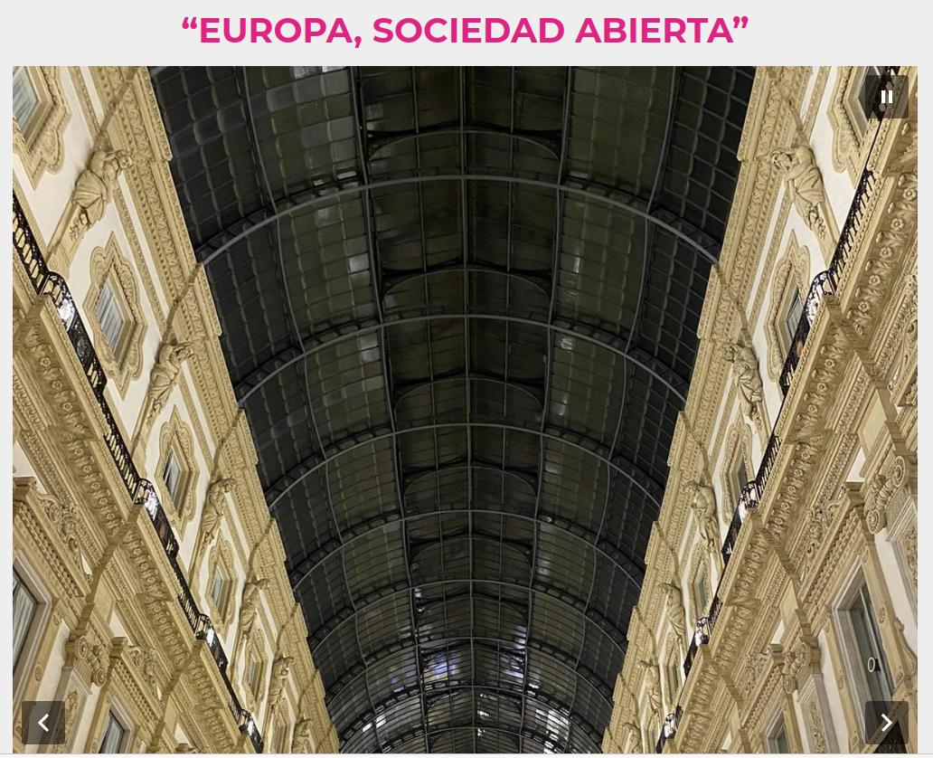 """Profesores de Derecho de la UGR participan en el V congreso internacional """"Europa, sociedad abierta"""""""