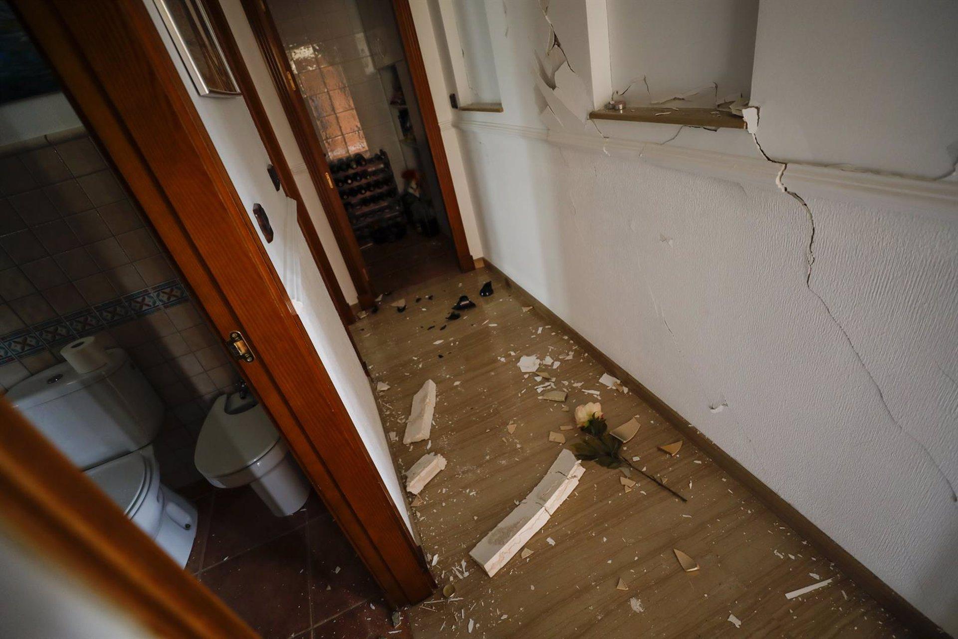 Atendidas una decena de incidencias a causa de los terremotos