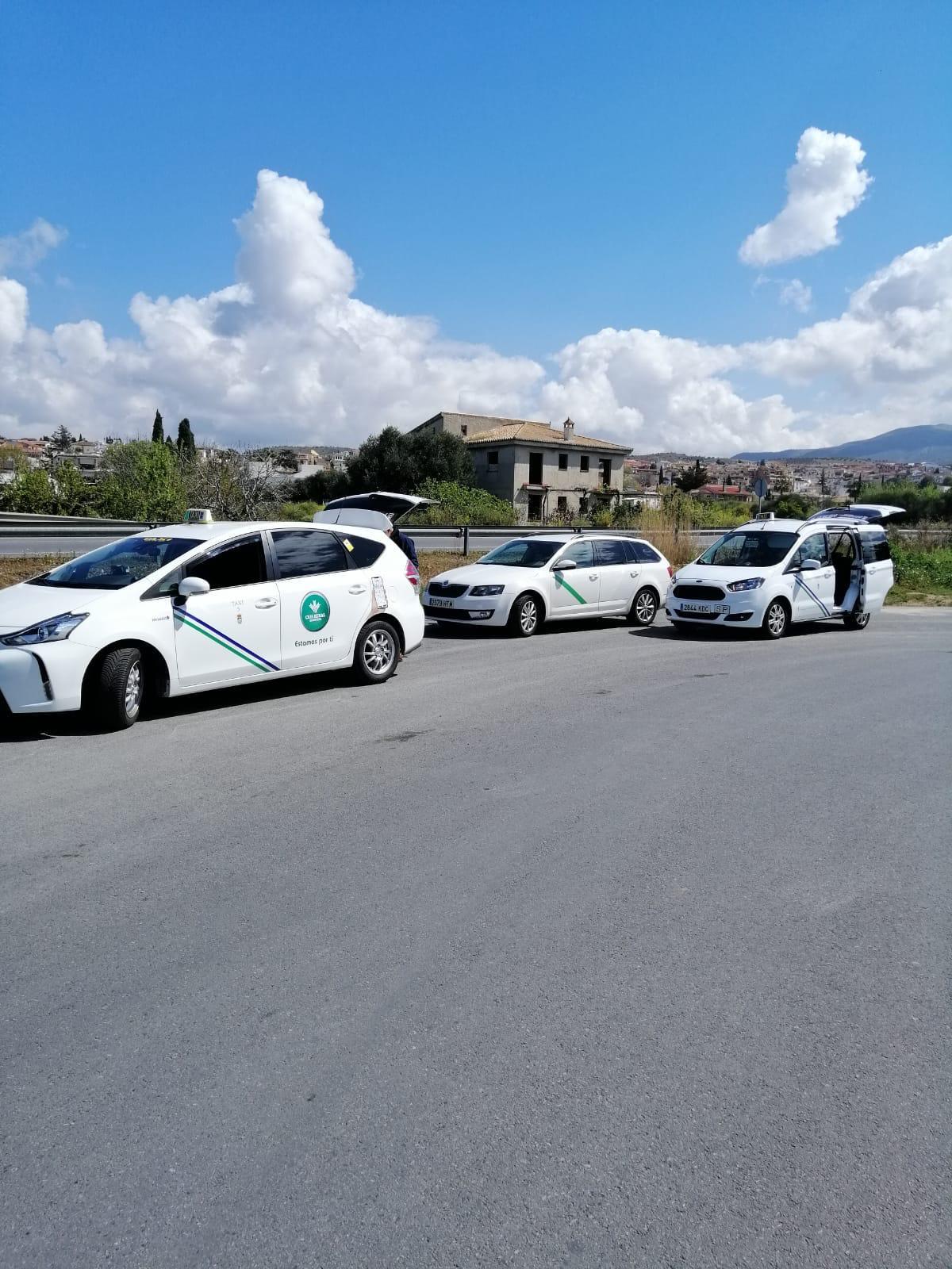 Los taxis de Monachil se agrupan en un único número de teléfono