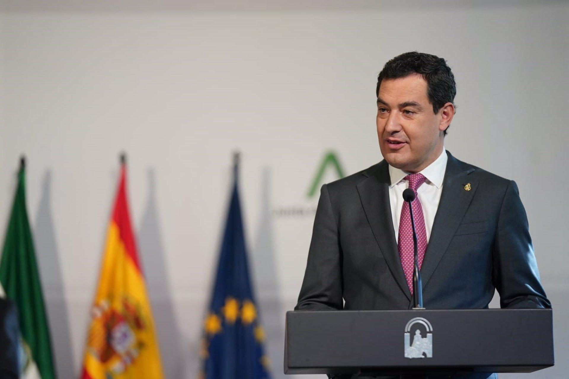 Moreno espera una decisión «urgente» del Gobierno para que CCAA no estén «desnudas» frente a la pandemia