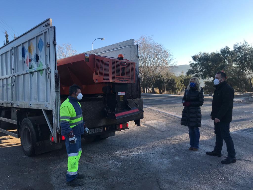El Ayuntamiento provisiona 2.000 kilos de sal ante la posibilidad de nuevas heladas