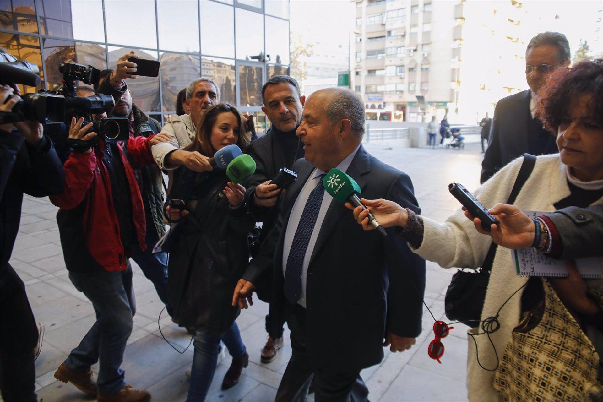El Juzgado de lo Penal 1 juzgará a Torres Hurtado por la pieza 'Obispo Hurtado' del caso Nazarí