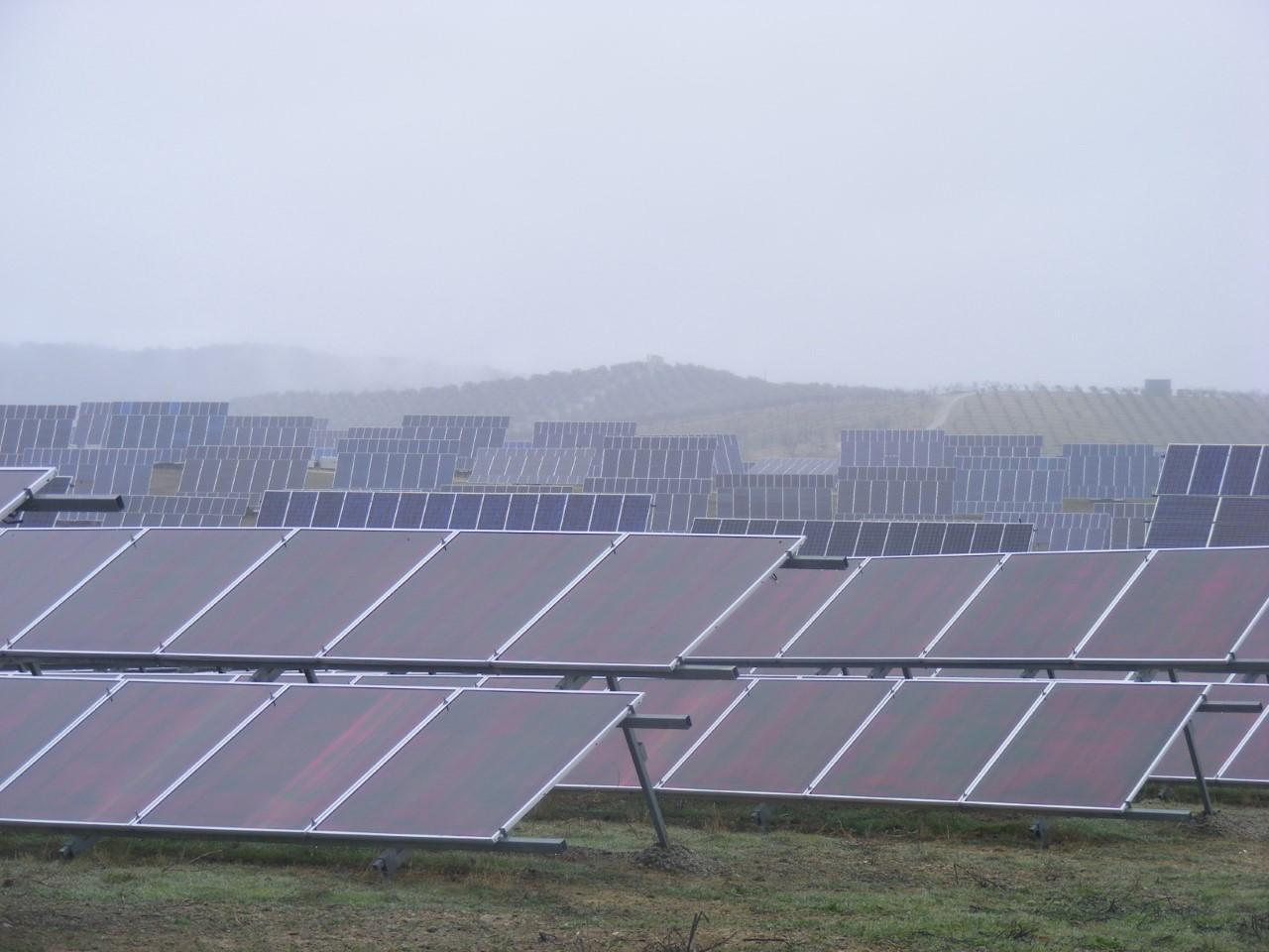 """IU rechaza la """"avalancha"""" de macroplantas de energías renovables"""