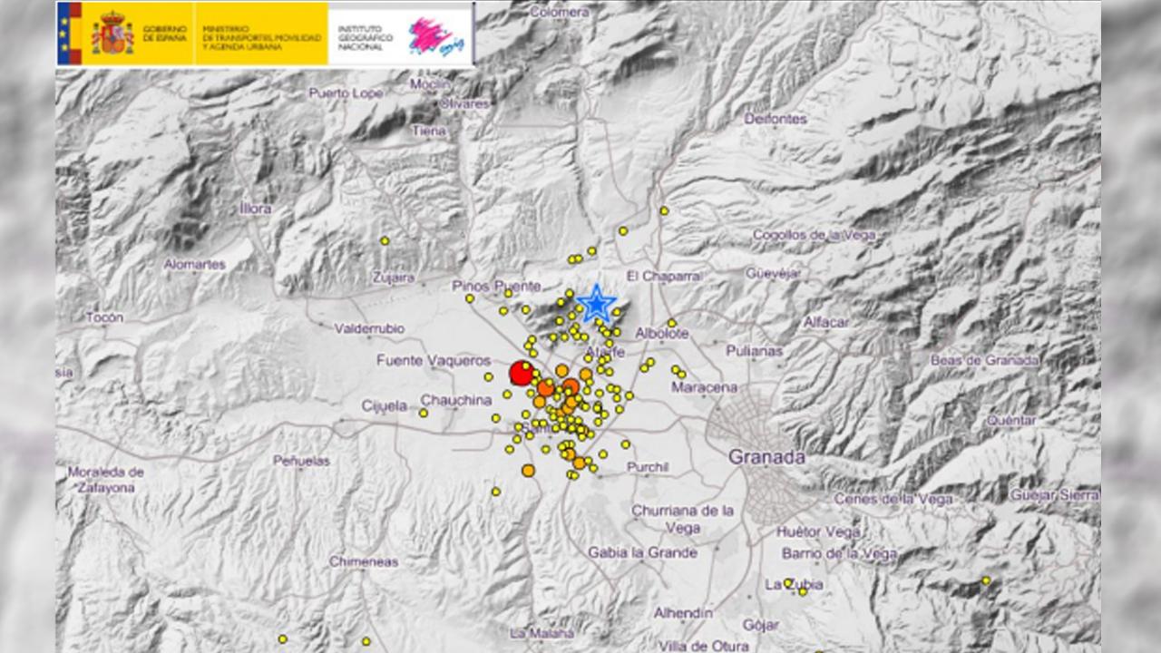 Un seísmo de 3,5 grados con epicentro en Chauchina vuelve a causar alarma