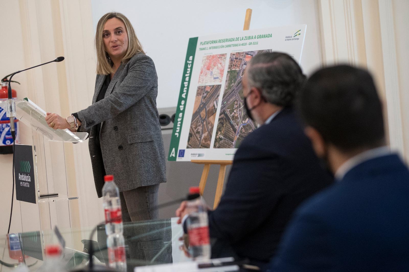 La Junta licita por 1,2 millones de euros las obras de la plataforma reservada de La Zubia