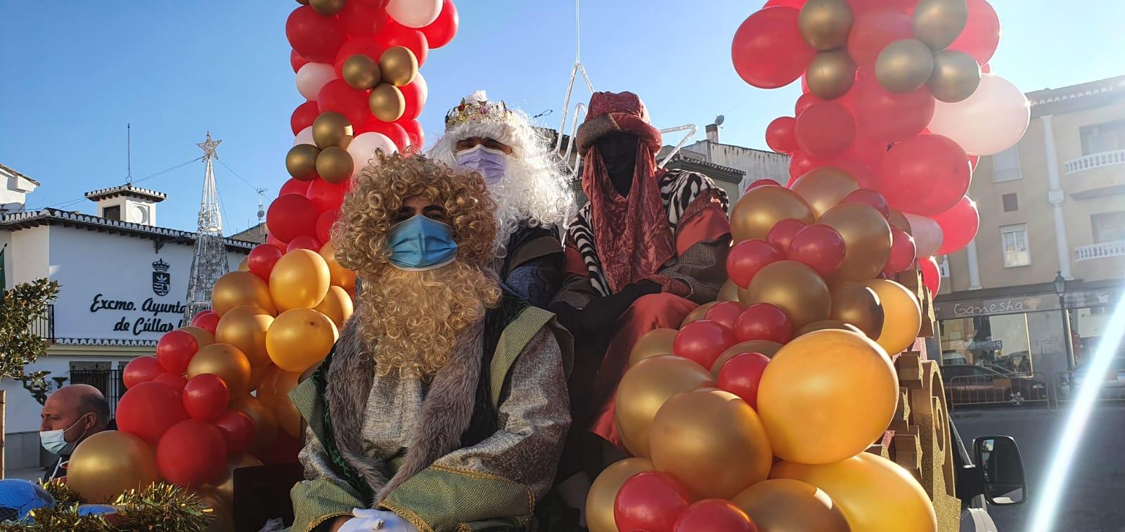 Los Reyes Magos visitarán en Cúllar Vega las casas de más de 600 niños
