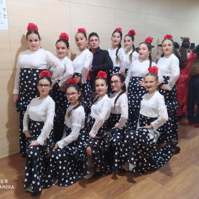 La escuela municipal de Huétor Tájar, finalista en los premios más importantes del mundo de baile flamenco