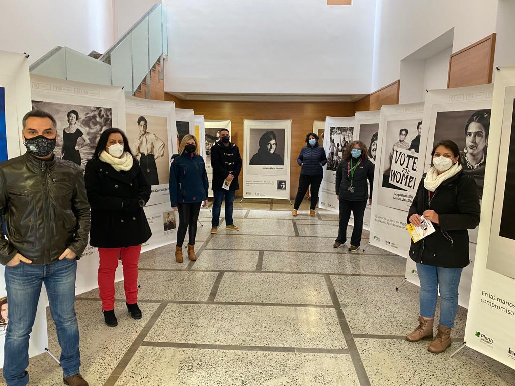 """Vegas del Genil acoge la exposición fotográfica """"Yo, tú, ellas"""", retratos de mujeres con discapacidad intelectual"""
