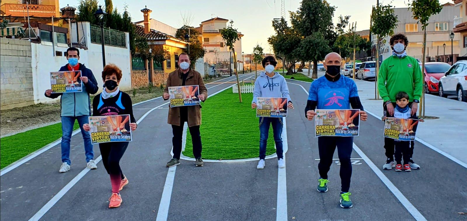 La Carrera «Ruta de los Secaderos» de Cullar Vega recaudará alimentos para los más necesitados