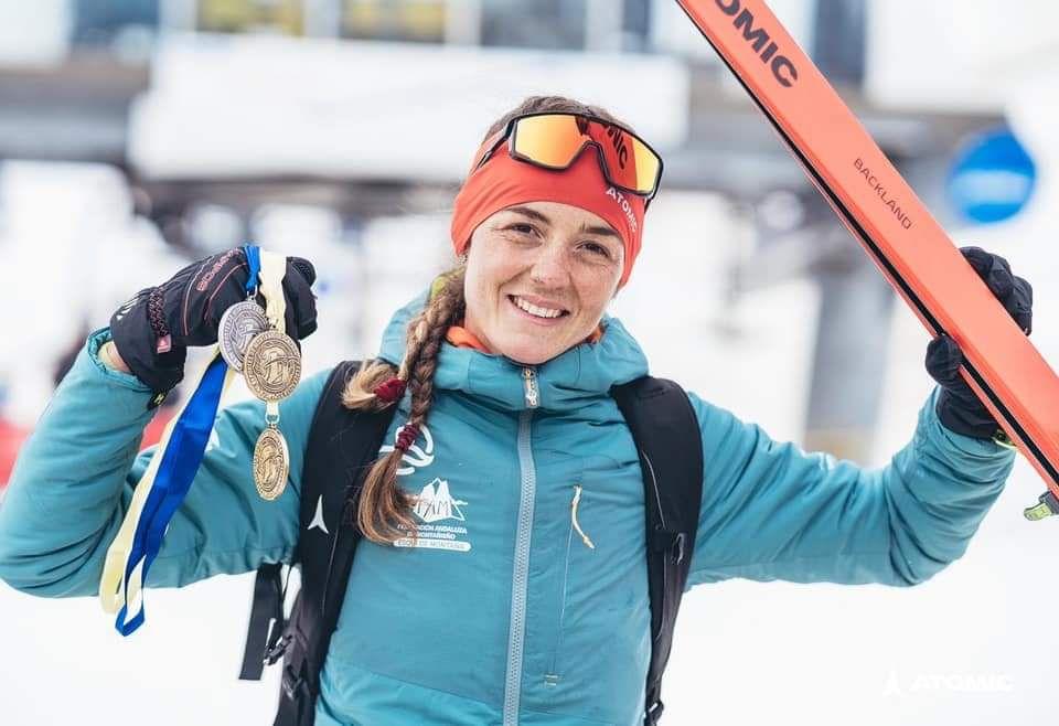 La granadina Ana Alonso se proclama Campeona de España  de Esquí de Montaña