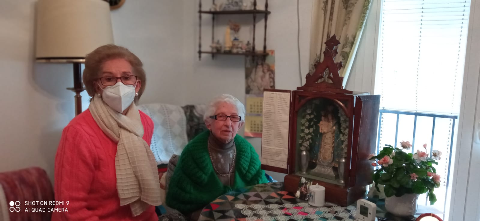 Recuperan la 'capilla portátil' centenaria desaparecida en Montefrío