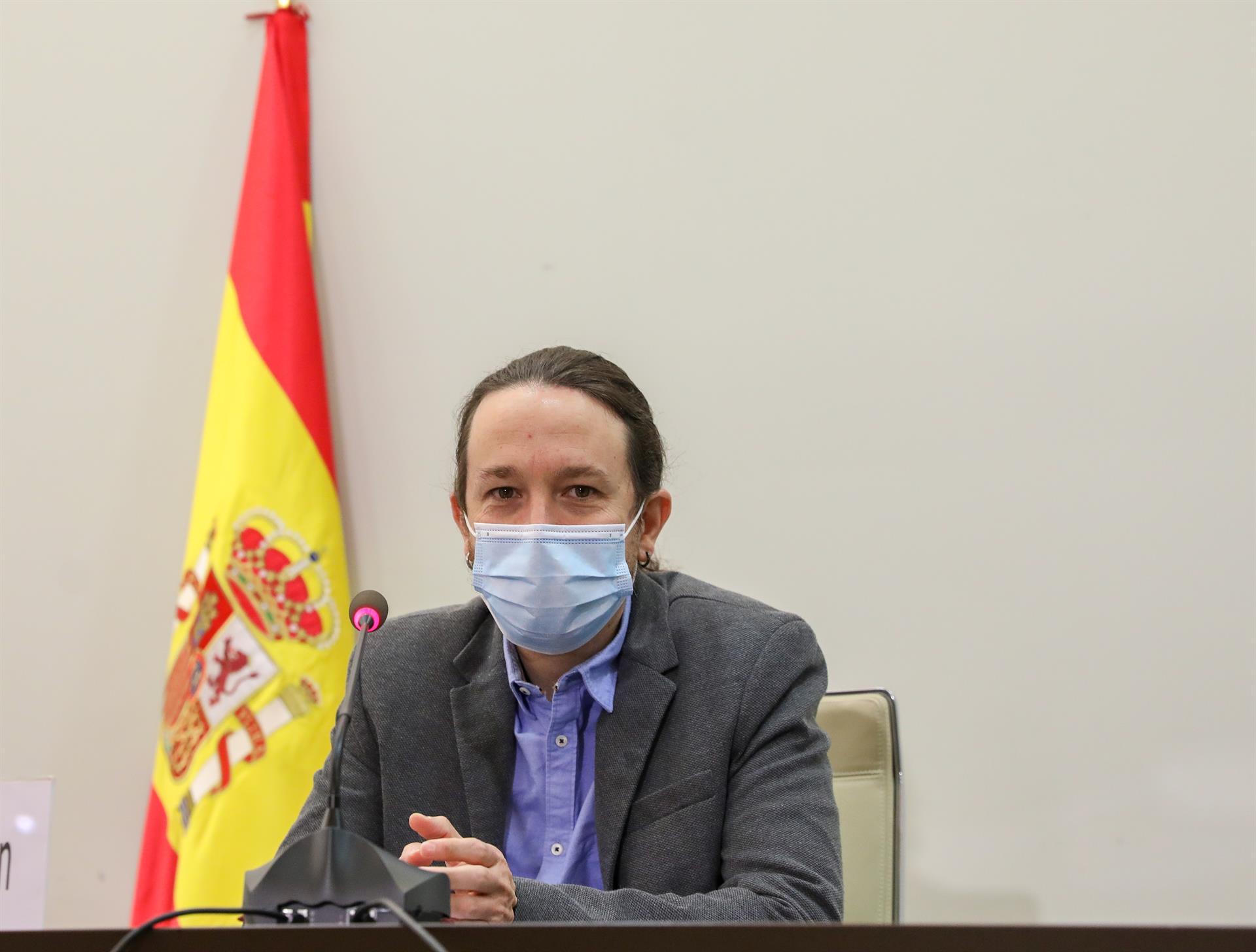 Iglesias traslada su apoyo a los afectados por los terremotos en Granada