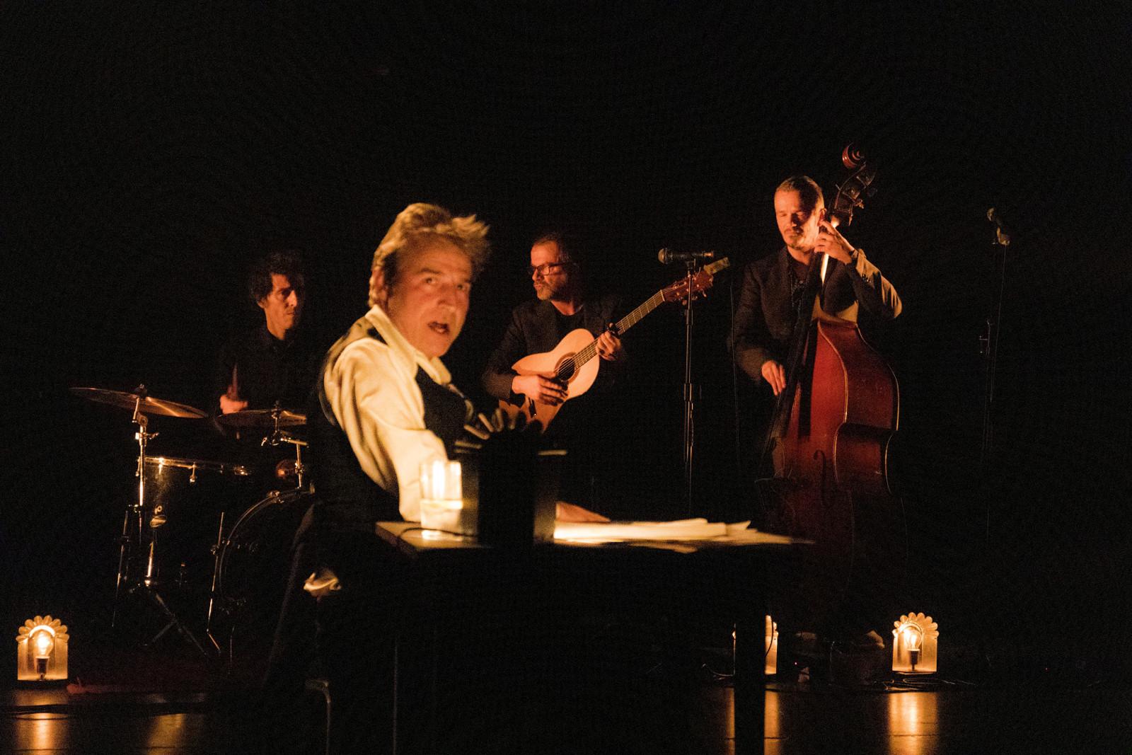 El Teatro Alhambra presenta hoy la conferencia recital 'Nueva York en un poeta', de Alberto San Juan y La Banda