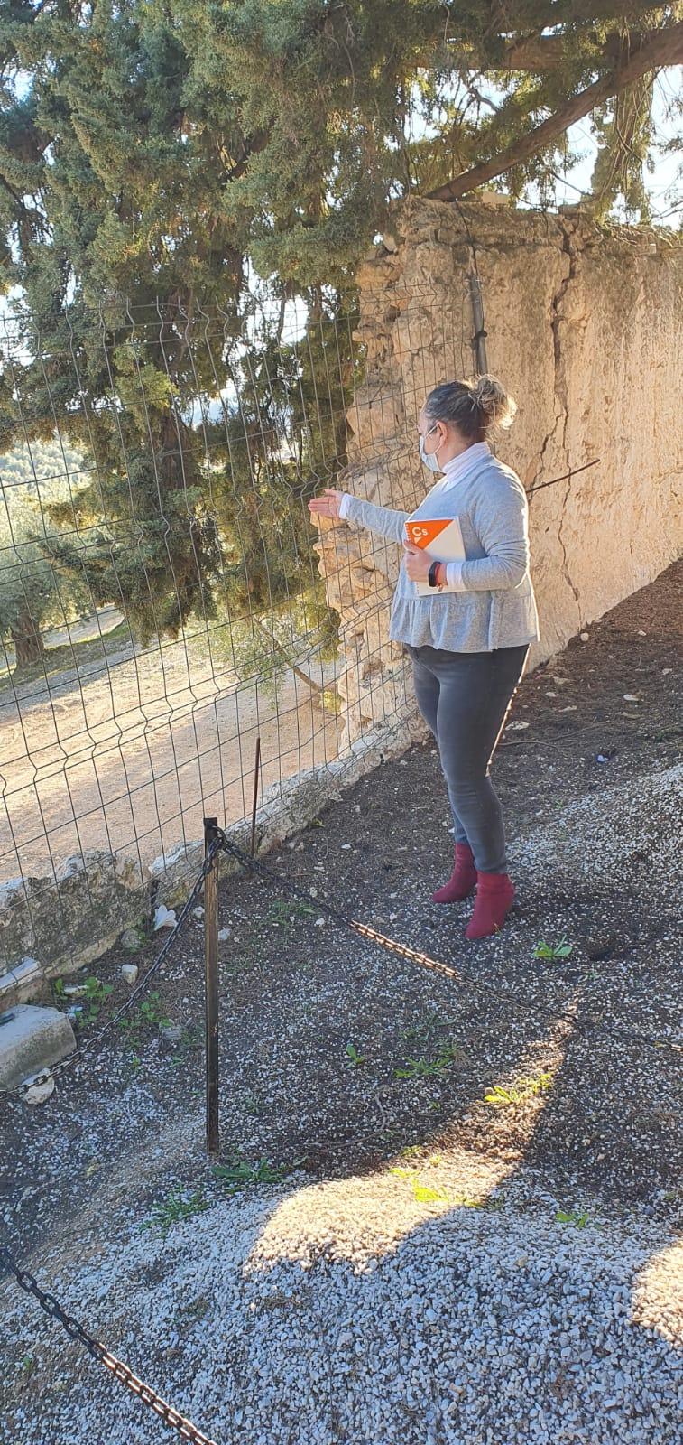 Ciudadanos critica el «abandono» que sufre el cementerio de Íllora