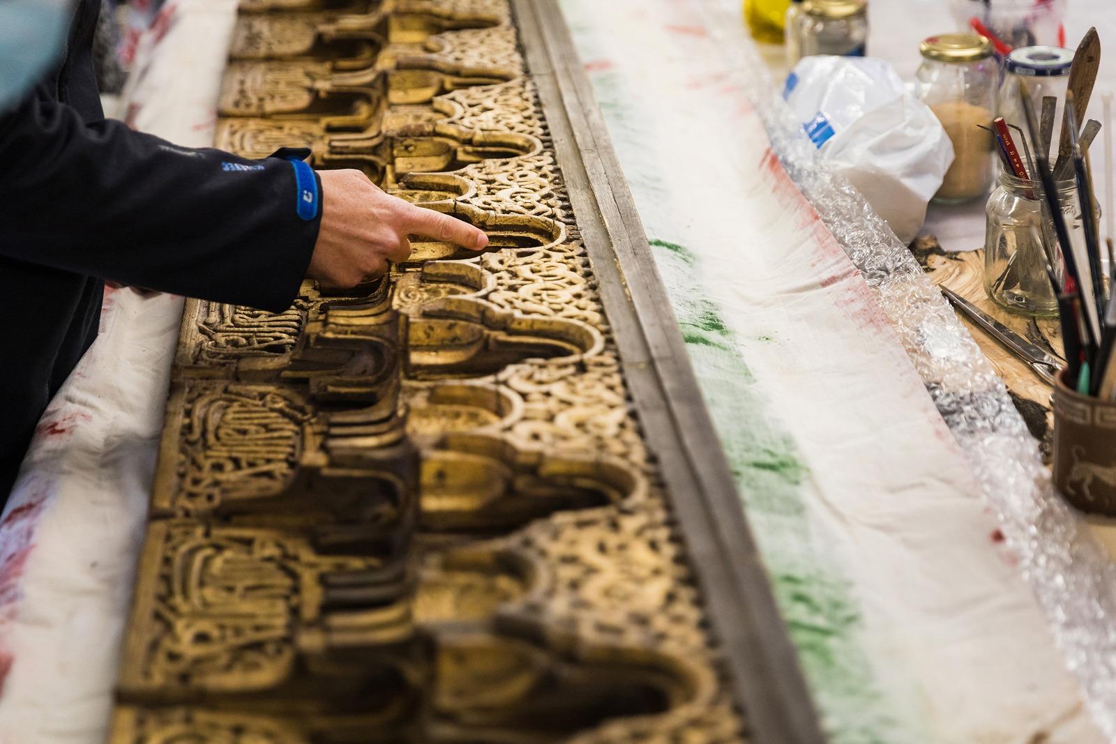 Recuperan un arrocabe medieval de la Alhambra desaparecido hace casi dos siglos