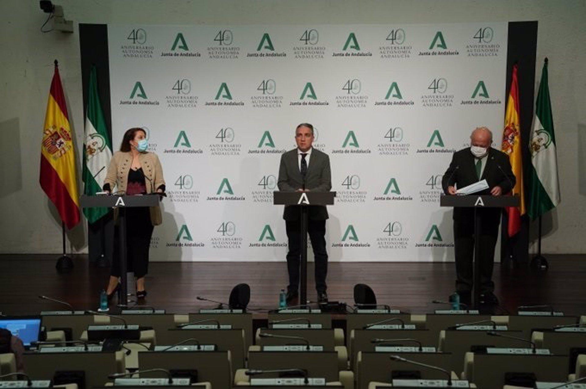Andalucía aprueba el Plan 7.500 para hacer frente a la tercera ola «explosiva» del coronavirus