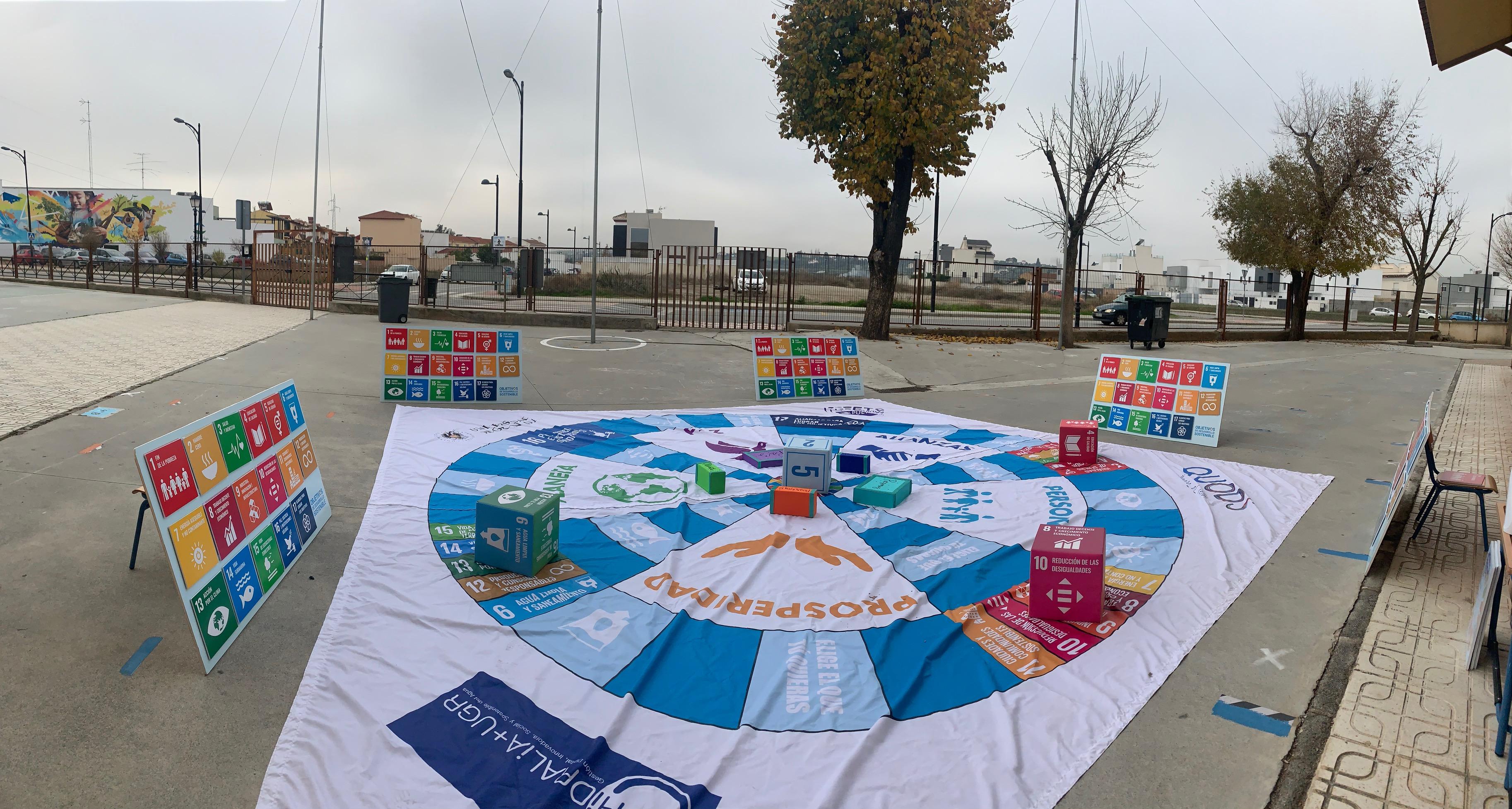 Diputación y UGR difunden los objetivos de desarrollo sostenible 2030 entre escolares