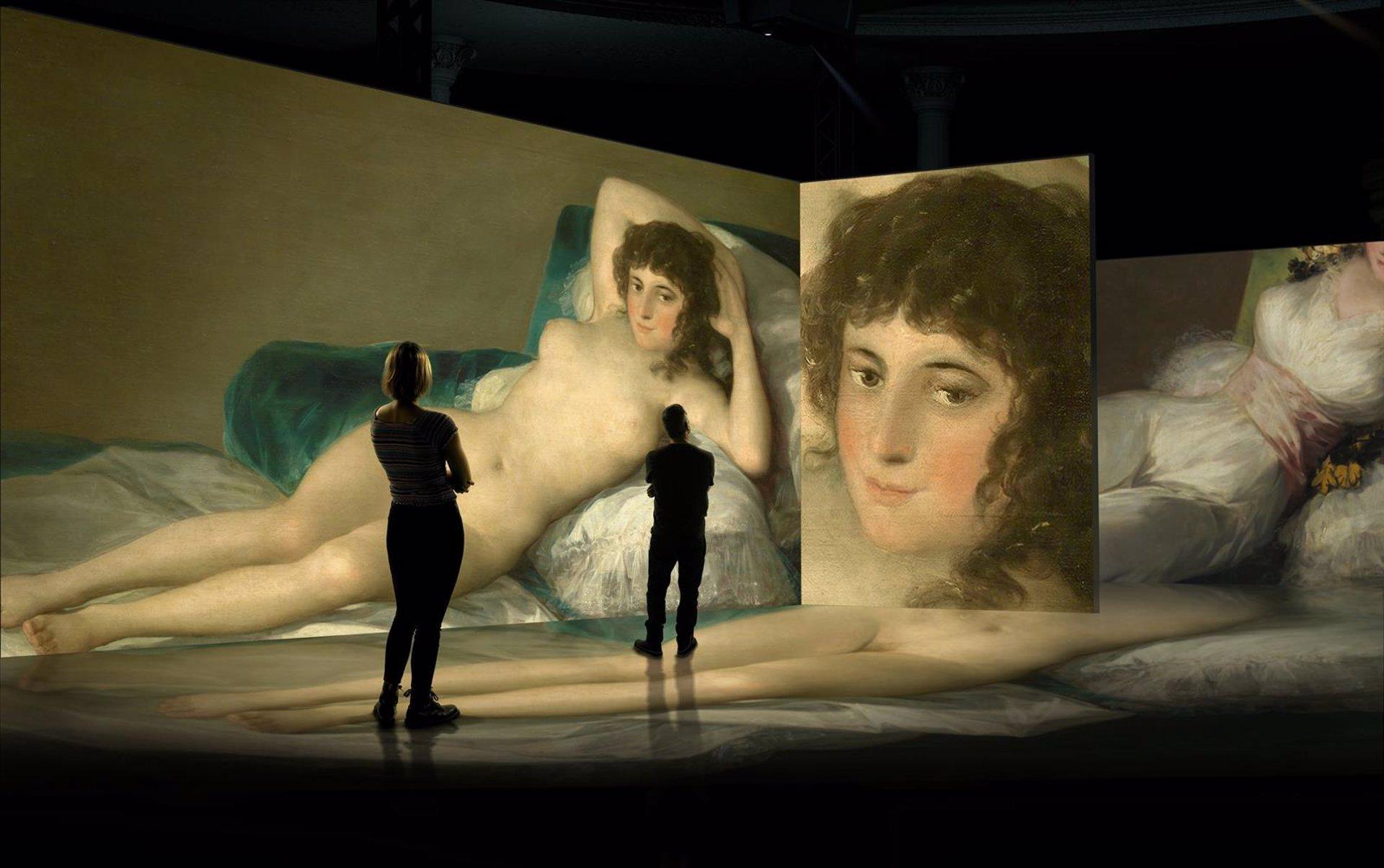 El Palacio de Congresos acogerá en marzo el inicio de la gira mundial de una exposición inmersiva sobre Goya