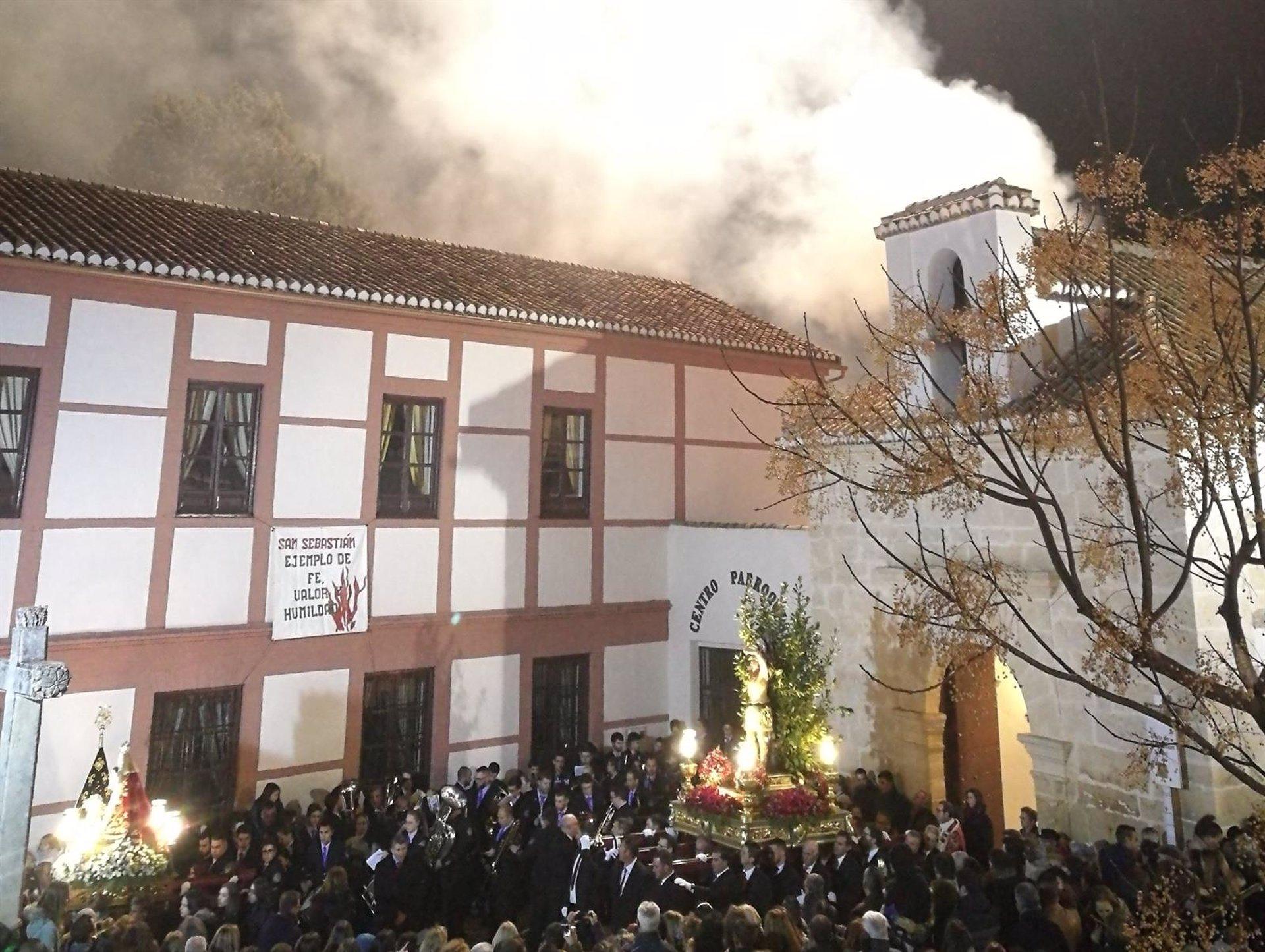Suspendidas las procesiones y hogueras por San Sebastián en Padul