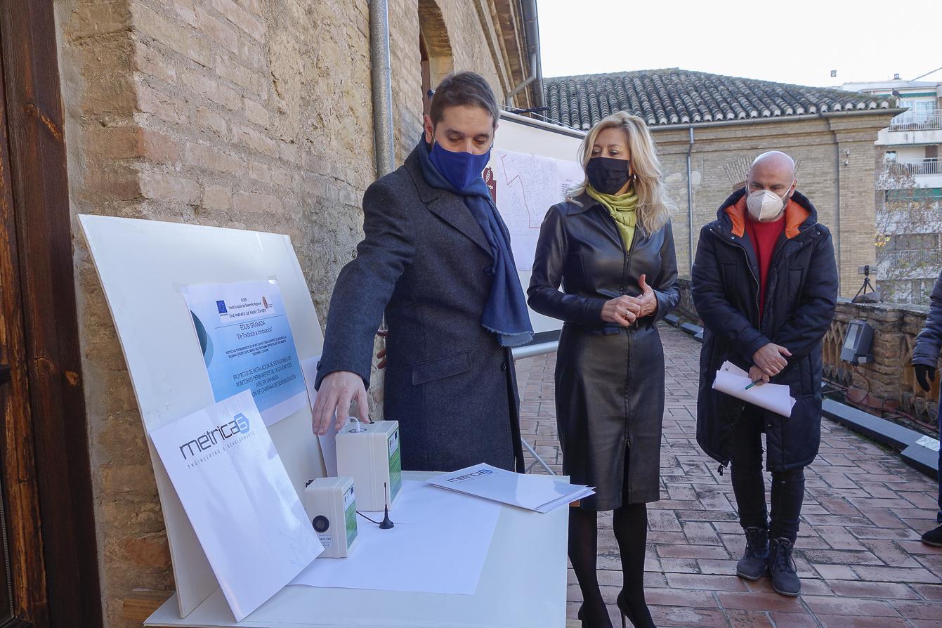 Granada contará con 300 medidores para controlar la calidad del Aire