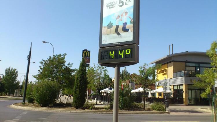 Granada es la provincia que más ha incrementado su temperatura máxima en pasados años con 0,41ºC/década